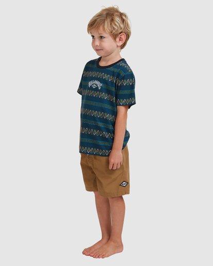 1 Boys 0-7 Layback Solid Shorts Beige 7517452 Billabong