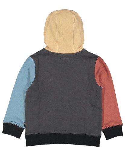 4 Boys 0-7  Colour Pop Hoodie Grey 7517617 Billabong