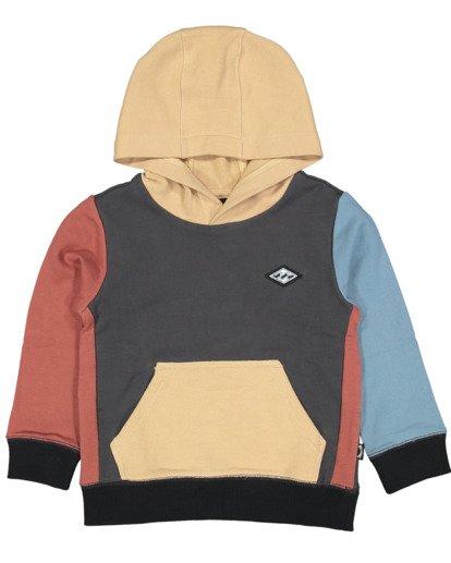 3 Boys 0-7  Colour Pop Hoodie Grey 7517617 Billabong