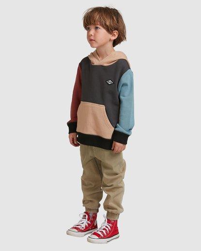 1 Boys 0-7  Colour Pop Hoodie Grey 7517617 Billabong