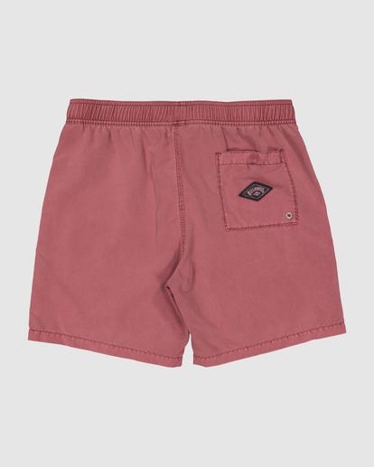 4 Boys 0-7 All Day Ovd Layback Boardshorts Pink 7572439 Billabong