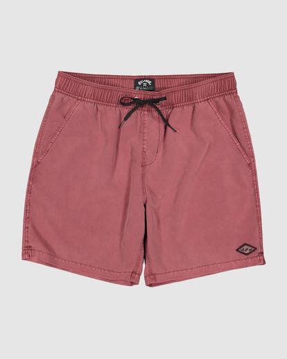 3 Boys 0-7 All Day Ovd Layback Boardshorts Pink 7572439 Billabong