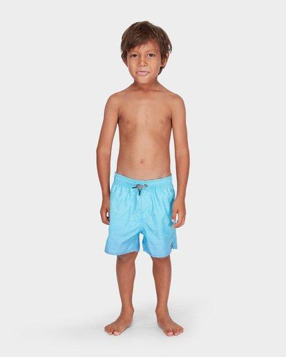 0 BOYS SERGIO LAYBACK BOARDSHORT Blue 7581417 Billabong