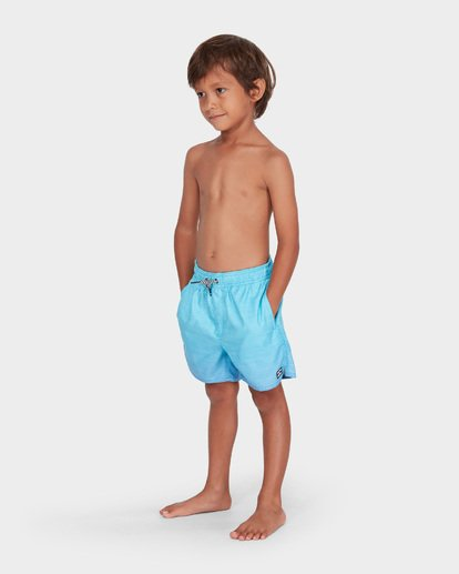 1 BOYS SERGIO LAYBACK BOARDSHORT Blue 7581417 Billabong