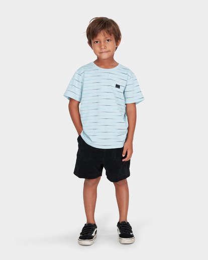 5 BOYS LARRY CORD ELASTIC WALKSHORT Black 7581732 Billabong