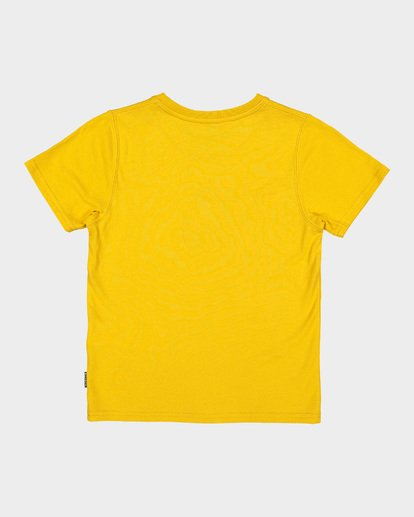 4 BOYS DUALITY TEE Yellow 7582002 Billabong