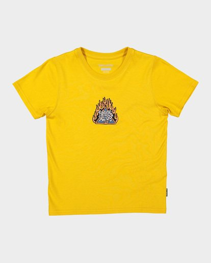 3 BOYS DUALITY TEE Yellow 7582002 Billabong