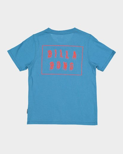 4 BOYS WARP CUT TEE Blue 7582035 Billabong