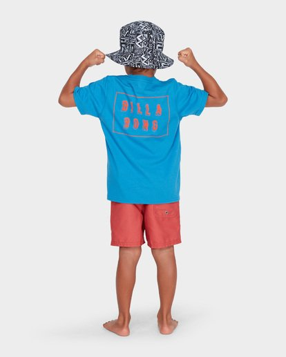 2 BOYS WARP CUT TEE Blue 7582035 Billabong