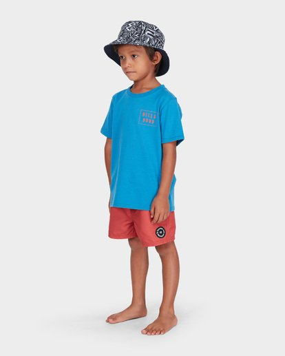 1 BOYS WARP CUT TEE Blue 7582035 Billabong