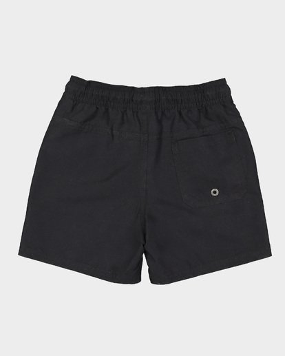4 Groms All Day Layback Boardshorts Black 7582402 Billabong