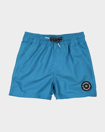 3 GROMS ALL DAY LAYBACK BOARDSHORTS Blue 7582402 Billabong