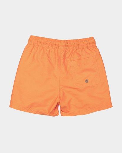 4 GROMS ALL DAY LAYBACK BOARDSHORTS Orange 7582402 Billabong