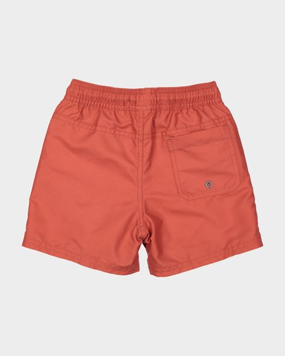 4 Groms All Day Layback Boardshorts Red 7582402 Billabong