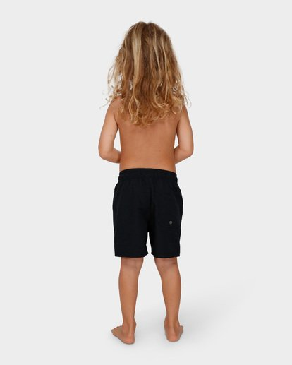 2 Groms All Day Layback Boardshorts Black 7582402 Billabong