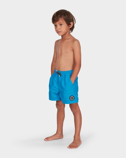 1 Groms All Day Layback Boardshorts Blue 7582402 Billabong