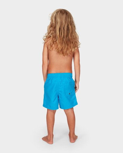 2 Groms All Day Layback Boardshorts Blue 7582402 Billabong