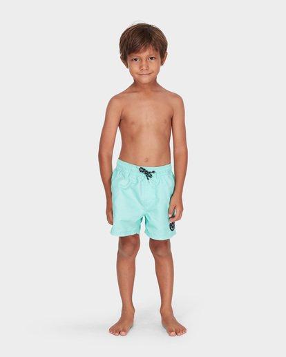 0 BOYS ALL DAY LAYBACK BOARDSHORT Green 7582402 Billabong
