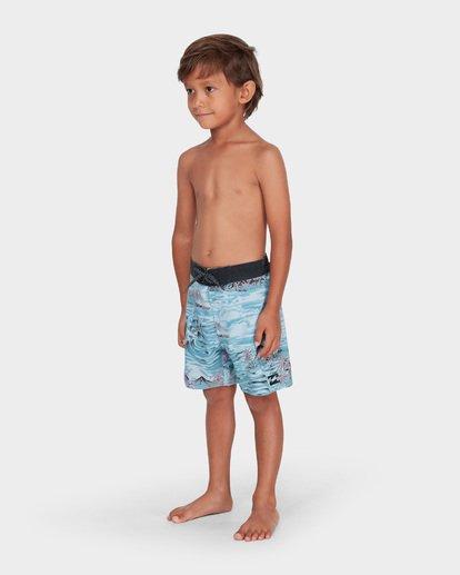 1 BOYS SUNDAYS LO TIDE BOARDSHORT Blue 7582409 Billabong