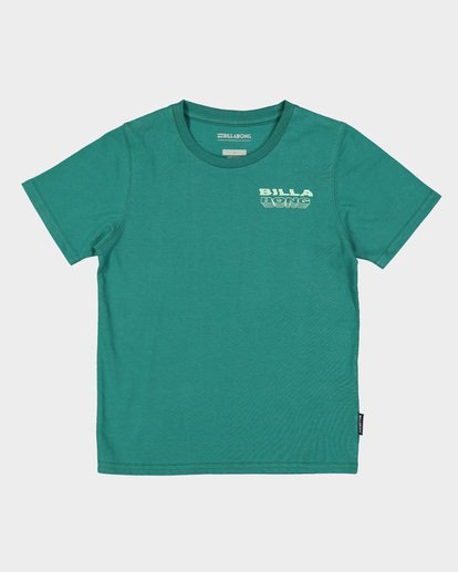 3 Groms Under Cut Tee Green 7591000 Billabong