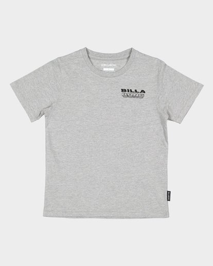3 GROMS UNDER CUT TEE Grey 7591000 Billabong
