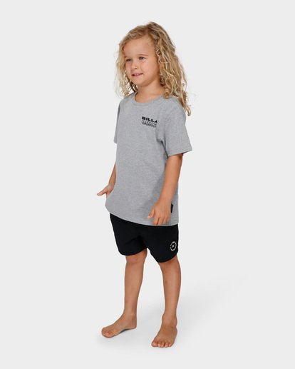 1 GROMS UNDER CUT TEE Grey 7591000 Billabong