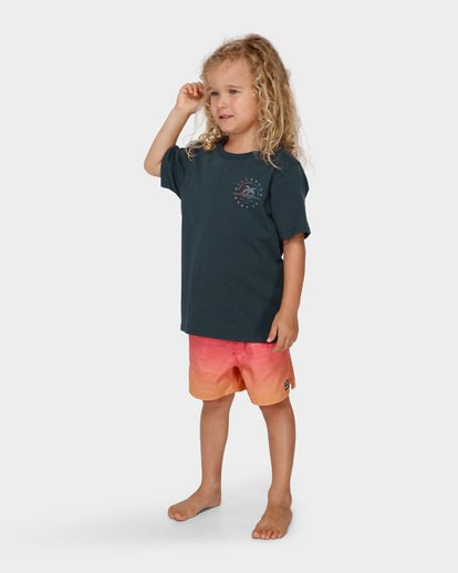 1 GROMS WHERE ITS FINE TEE  7591001 Billabong