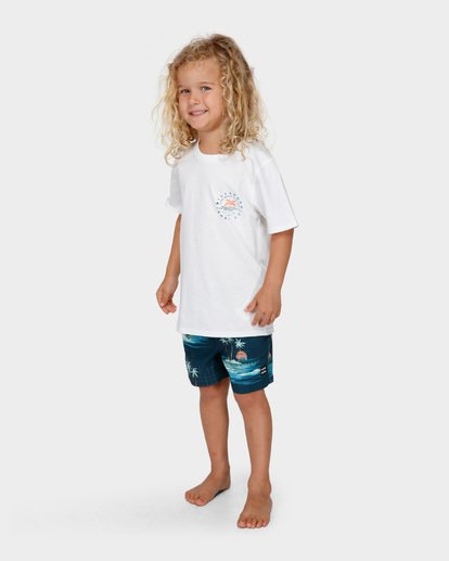1 GROMS WHERE ITS FINE TEE White 7591001 Billabong