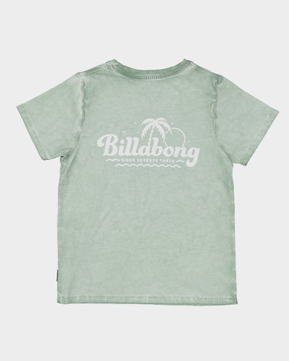 4 GROMS BEACH SCRIPT TEE  7591002 Billabong