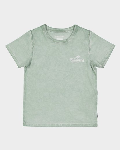3 GROMS BEACH SCRIPT TEE  7591002 Billabong