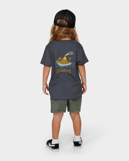 2 GROMS ISLAND TEE Black 7591003 Billabong