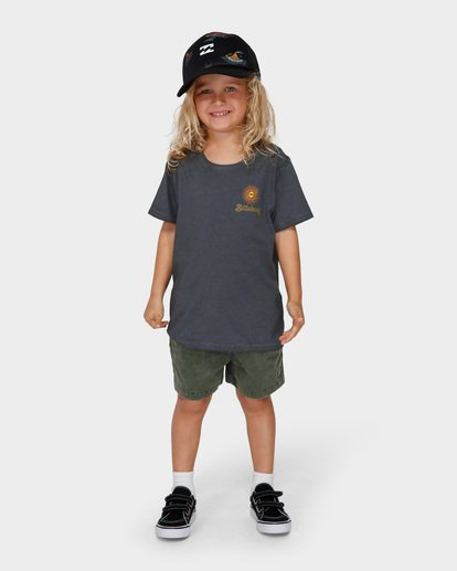 0 GROMS ISLAND TEE Black 7591003 Billabong