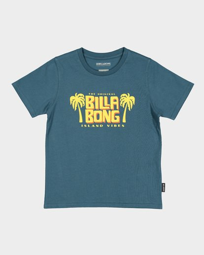3 GROMS CALYPSO TEE Blue 7591004 Billabong