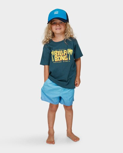 4 GROMS CALYPSO TEE Blue 7591004 Billabong