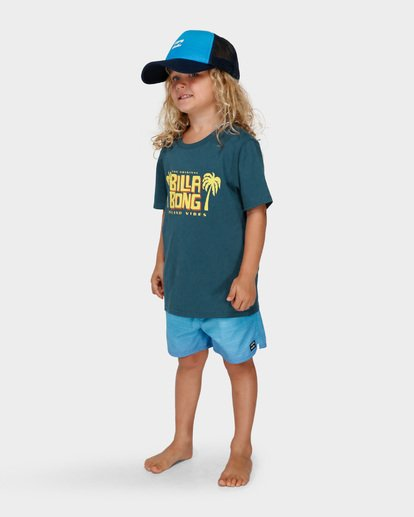 1 GROMS CALYPSO TEE Blue 7591004 Billabong