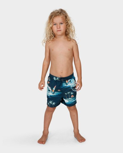 5 Groms Island Layback Blue 7591400 Billabong