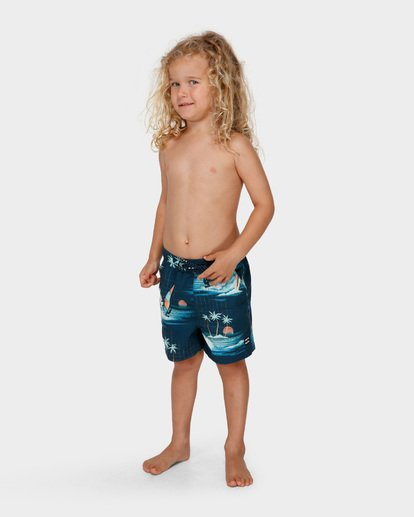 1 Groms Island Layback Blue 7591400 Billabong