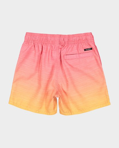 4 Groms Sergio Layback Boardshorts Orange 7591401 Billabong