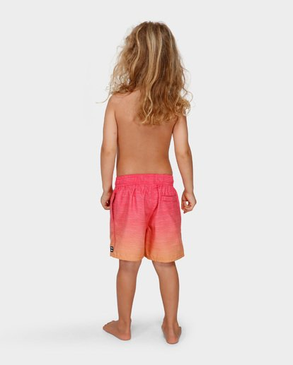 2 Groms Sergio Layback Boardshorts Orange 7591401 Billabong