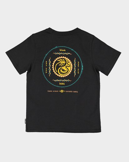 4 Groms Lil Yang Tee Black 7592008 Billabong