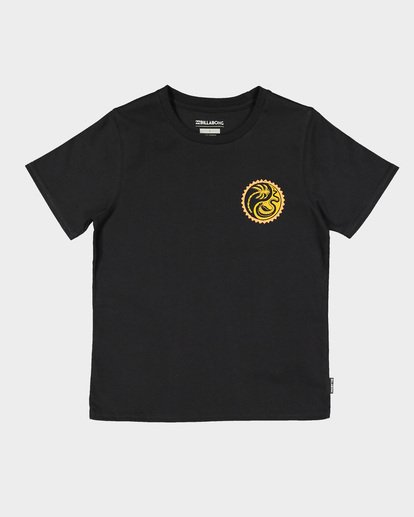 3 Groms Lil Yang Tee Black 7592008 Billabong