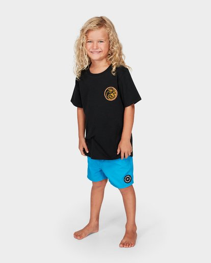 1 Groms Lil Yang Tee Black 7592008 Billabong