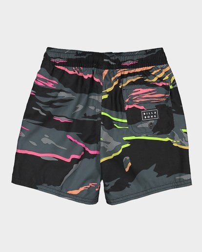 5 Groms Sundays Layback Boardshorts Black 7592405 Billabong