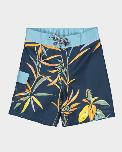 3 Groms Sundays Lo Tide Boardshorts Blue 7592406 Billabong