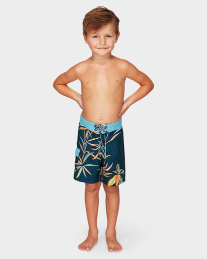 0 Groms Sundays Lo Tide Boardshorts Blue 7592406 Billabong