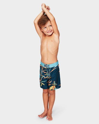 1 Groms Sundays Lo Tide Boardshorts Blue 7592406 Billabong