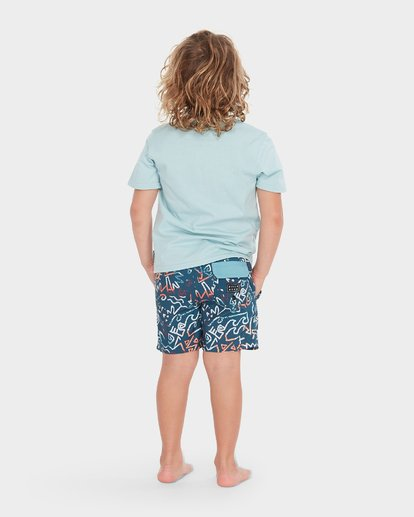2 BOYS ISLAND TEE  7595001 Billabong