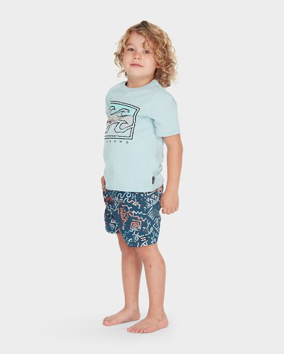 1 BOYS ISLAND TEE  7595001 Billabong