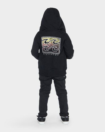 2 BOYS CRUSTY HOOD Black 7595602 Billabong