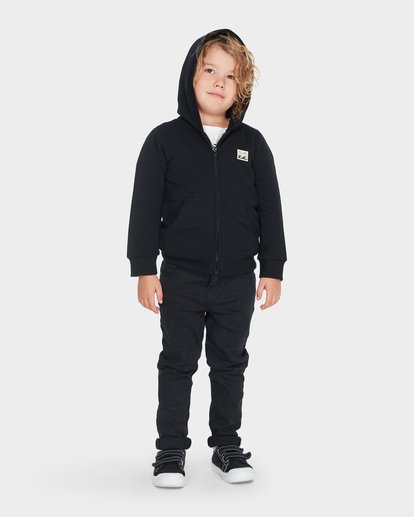 0 BOYS CRUSTY HOOD Black 7595602 Billabong